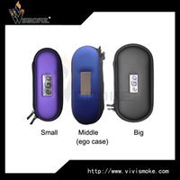 big bags on sale - Different size electronic cigarettes ego starter kit carry zipper case small middle big ego bag hot on sale DHL