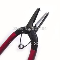 Wholesale 10pcs Jewelry making tools flat nose with pin pliers for Ribbon Cloth Leather Bows DIY