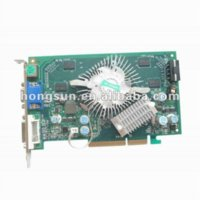 Wholesale NEW GF P508 GS MB BIT DDR2 MHZ AGP Video Card Dropship with tracking number