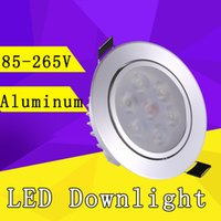 kitchen cabinet - LED Downlight W W W Epistar LED Recessed Cabinet Wall Spot Down light W Ceiling Lamp W W V V For Home Lighting