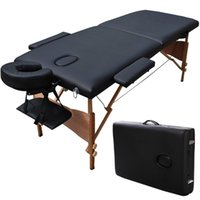 Wholesale Goplus quot L Portable Massage Table Facial SPA Bed Tattoo w Free Carry Case Black HB78775BK