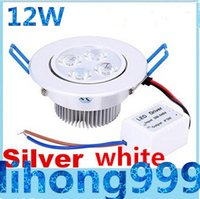 Wholesale 12W Dimmable Led Downlight Ceiling Light CREE X3W Led Recessed Down Lights AC V CE ROHS UL CSA SAA