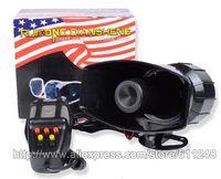 ambulance siren sounds - 80W Sound Car Electronic Warning Siren Motorcycle Alarm Police Firemen Ambulance Loudspeaker With MIC Police Siren