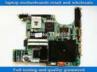 Wholesale for hp dv9000 DV9500 dv9700 Series laptop motherboard intel non integrated PM965 origianl and work well full tested