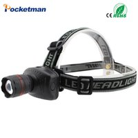 Wholesale New arrival Led lighting Head Lamp Headlight LED Light Lamp Weight Motile Headlamp for Cycling Camping Fishing Mounting