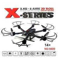 amazing wings - Amazing MJX X600 SYNC IMAGE G RC quadcopter drone axis can add C4005 wifi camera FPV VS Syma X5SW JJRC V686 CX30W