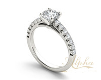 antique style diamond engagement rings - latest bright design halo diamond ring antique friendaship style sterling sliver jewelry ring BER0211