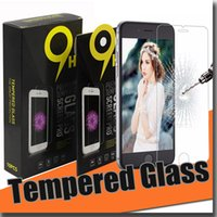 anti fingerprint - For iphone7 plus s7 Screen Protector Tempered glass Anti fingerprint Tempered mm D H Explosion proof with Paper package