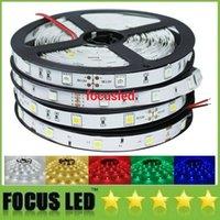 Wholesale RGB Led Strip SMD Led Flexible ribbon DC12V LEDs m M LEDs Waterproof String Bar decoration Home Bar KTV