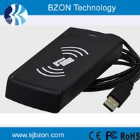 Wholesale Mhz RFID iso1443A reader and write USB port output rfid ic card reader