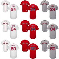 baseball prices - Red grey green white red David Price David Ortiz Dustin Pedroia Mookie Betts Jersey Men s Boston Red Sox Flexbase Collection
