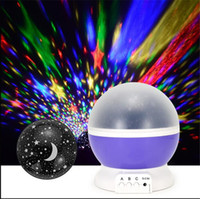 baby projector nightlight - LED Mini Sky Projector Color Changing Rotation Projection Starry Star lava Lamp USB Battery Home Decor Baby Kids Nightlight Gift