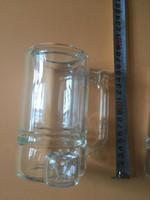 Wholesale Glass Coffee Mug bong Double air