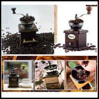Wholesale manual coffee grinder vintage coffee maker hand coffee grinder mill