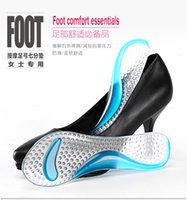 arch supports sandals - 100 Pairs Non Slip Sandals High Heel Arch Cushion Support Silicone Gel Pads Shoes Insole Woman Insoles Cushion DHL Free