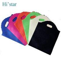 Cheap flat Non Woven Shopping Bags Best hair packaging bag