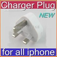 Wholesale Hot UK Plug USB Wall Charger Full V A Travel AC Adapter for Iphone s Iphone G Ipad Mini