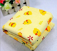 Wholesale Children yellow duckling changing mat large baby changing mat waterproof changing mat