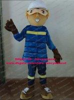 baseball skills - Skilled Brown Baseball Athlete Sportsman Player Mascot Costume Cartoon Character Mascotte Blue Pants Brown Shoes ZZ979 Free Sh