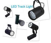 Wholesale LED Track Spot light W W W W W W W V Cold Warm White V LED Track Rail Spotlight Energy Saving
