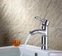 Wholesale Faucets Authentic Sinks Hot And Cold Water Tap Undercounter Mix Water Puckering Copper Tap
