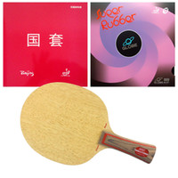 beijing table tennis - HRT Blade with TUTTLE Beijing IV Globe Rubbers for a table tennis PingPong racket