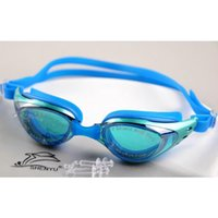 Wholesale Adjustable Unisex Adult Fog Resistant Lenses Anti uv Swimming Goggles Swimming Glasses
