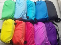 Wholesale Factory hangout lazy sleeping air bag lazybag lazy bag sofa