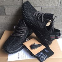 best men shoes - with Box socks receipt keychain BEST Boost Pirate Black Moonrock Oxford Tan Turtle Dove Men Running Shoes Sneaker