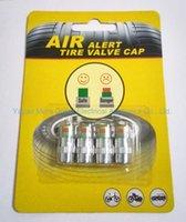 Wholesale 4PCS PSI Sensor Indicator Monitor Eye Alert Diagnostic Tools Kit Car Auto Tire Pressure Valve Stem Caps
