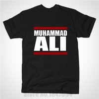 ali brown - New Summer Muhammad Ali Run Ali Officially Licensed Adult T Shirts Men Cotton Fashion Camisetas T shirts