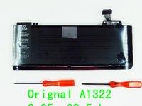 Wholesale Laptop Battery For APPLE MacBook Pro quot A1278 Version MC700 MC374 MB990 Replace A1322 battery