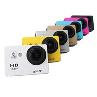 Wholesale SJ6000 WiFi Action Camera Gopro Style Sport Camera Screen P Full HD Helmet Camcorder M Diving Video Camera