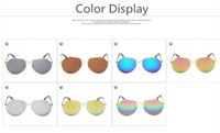 ants film - Fashion Women Sunglasses Color Film Trimming Grey Ant Metal Sunglasses Many Colors L