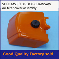 Wholesale CHAINSAW PARTS AIR FILTER COVER CAP PLASTIC ORANGER PARTS STL STH MS380 MS381 IN STROKE PT381