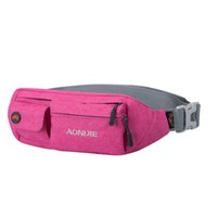 Wholesale Unisex Portable Multifunction Waterproof Sport Waist Bag Running Cycling Jogging Bag for iPhone Samsung Single Double Pockets