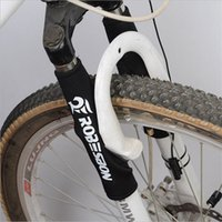 Wholesale 1pair Bicycle Frame Chain Protector Cycling Mountain Bike Stay Front Fork Protection Guard Protective Pad Wrap Cover