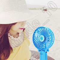 air conditioning timer - 60pcs LJJC4286 High Quality Colors Cooling Outdoor Portable Air Conditioning USB Handheld Pocket Summer Mini Fan Foldable Mute USB Fans