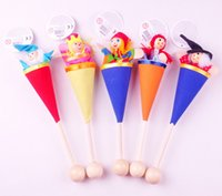 Wholesale Children s telescopic buckets toys Christmas toy doll Novelty toys Telescopic rod toys For Kids Holiday And Christmas Gift JF