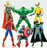 Wholesale 2016 new style Avengers superhero toy baby giant spider man and Captain America Thor iron man