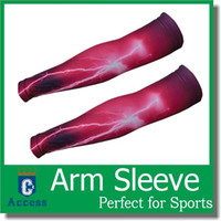 basketball cover sleeve - Sport Skin Camo Arm Sleeves athletic Cooling UV Cover Sun protective Stretch Armband Basketball color