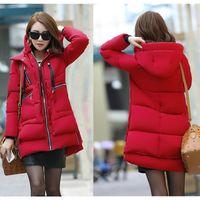 Wholesale Winter Jacket Women Winter Womens Casual Outwear Hooded Coat Fur Coats Clothes