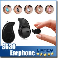 Wholesale Smallest Bluetooth For Ears - Mini Ultra-small S530 Wireless Bluetooth Headphones 4.0 Stereo Earbud Headset Handsfree Sport Earphone In-ear For Iphone7 Retail Package
