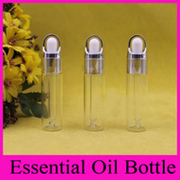 amber essence - 2016 New ml essential oil bottle dropper bottle essence bottle clean frost bottle amber glass dropper cosmetic containers Perfume Bottles