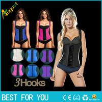 Wholesale Sport latex waist cincher trainer hot shaper fast weight loss girdle slimming belt waist training corset underbust