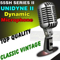 Wholesale Professional Deluxe Metal SH Series Style Vocal Speech Vintage Rock Classical Wired Microphone Dynamic Mic Mike