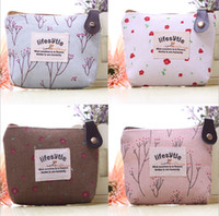 Wholesale New Fashion printing zipper Coin Purse Women Wallet Burse cm Mix Color High Quality