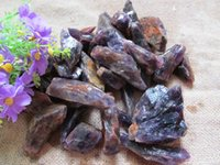 amethyst rock crystal - natural amethyst crystal quartz raw rock gems mineral specimens ore energy stone g