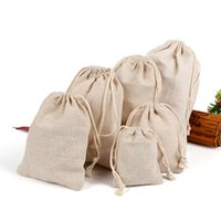 bb pouch - 2016 Small Jute Drawstring Bag for Storage Pouches Jewel Accessories Packaging Retail Linen Bags gfit sack BB