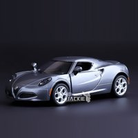 alfa romeo models - High Simulation Exquisite Diecasts amp Toy Vehicles KiNSMART Car Styling Alfa Romeo C Sports Car Alloy Diecast Model Toy Car